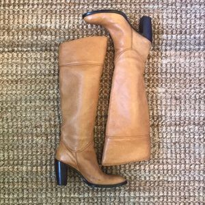 Steven by Steve Madden Camel Knee High Boots